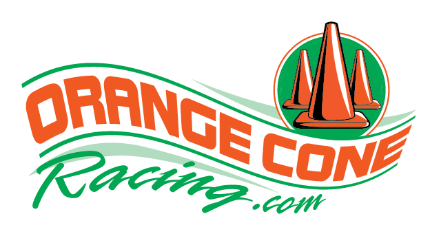 orange cone racing logo
